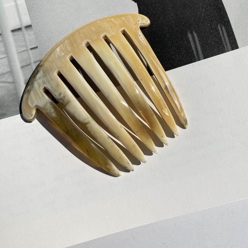 画像1: Natural Horn Comb D