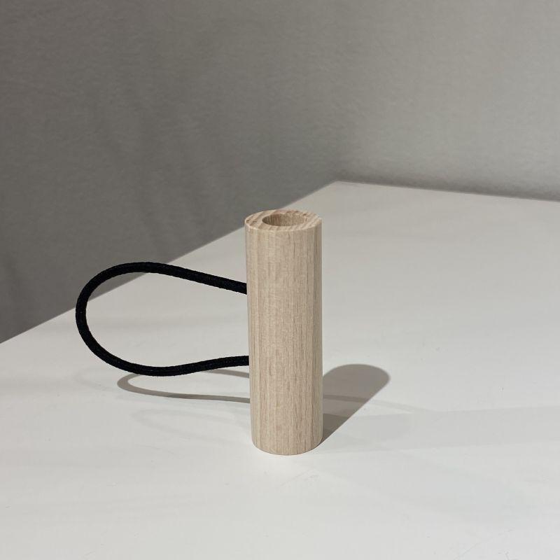 画像1: tor wood hair accessory S