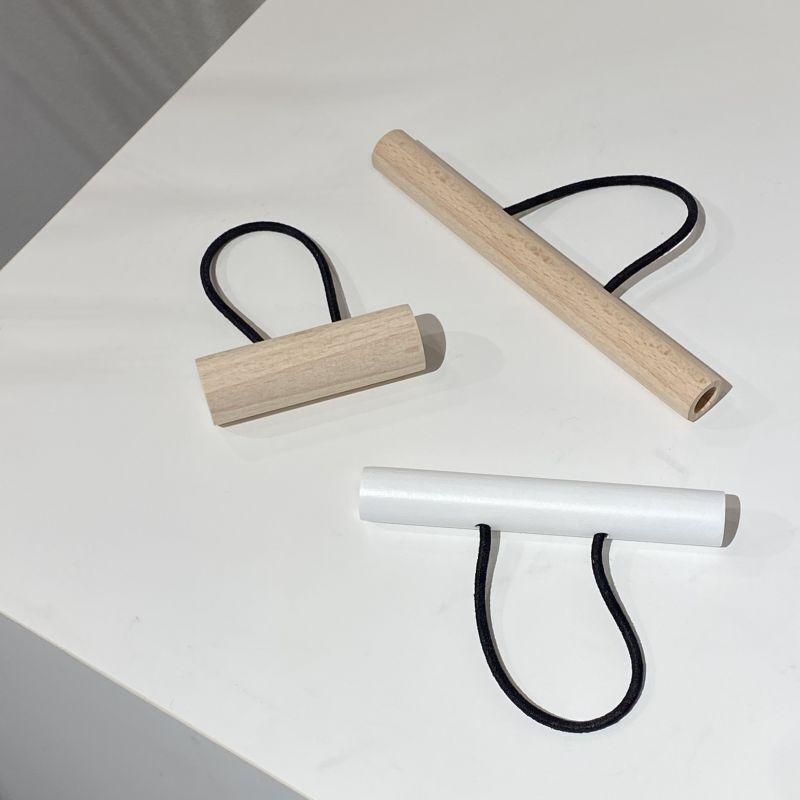 画像3: tor wood hair accessory M