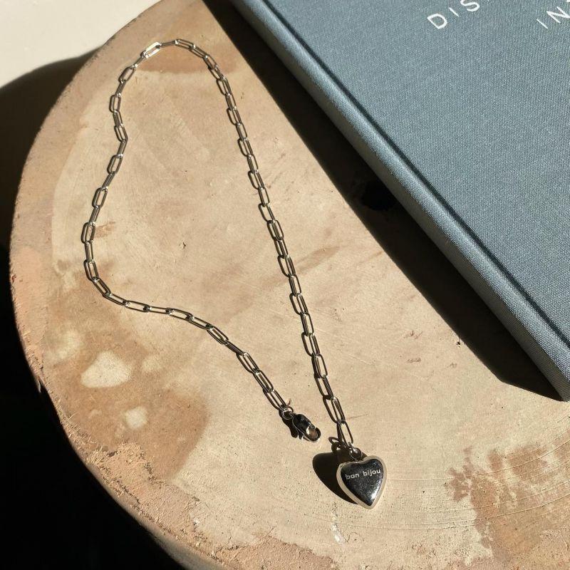 画像1: Heart chain Necklace 2