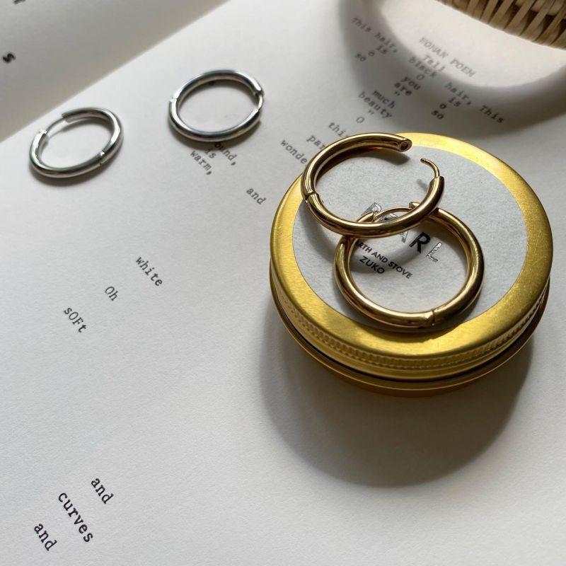画像1: φ25 gold pierce
